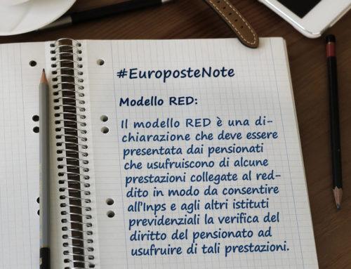 Modello RED – Dichiarazioni Reddituali Pensionati